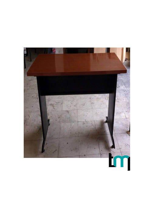 Mesa rectangular cubierta MDF y laminado plástico