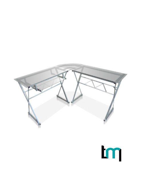 escritorio jm-909 cristal