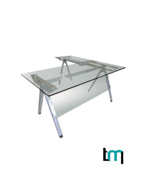 escritorio jm-b303 cristal