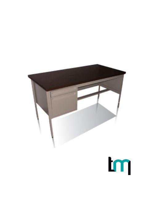 escritorio secretarial jm-metalico 120x75